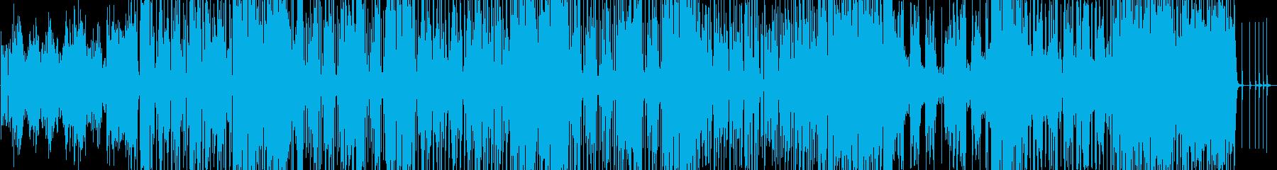 アップテンポの80`sディスコ曲 の再生済みの波形