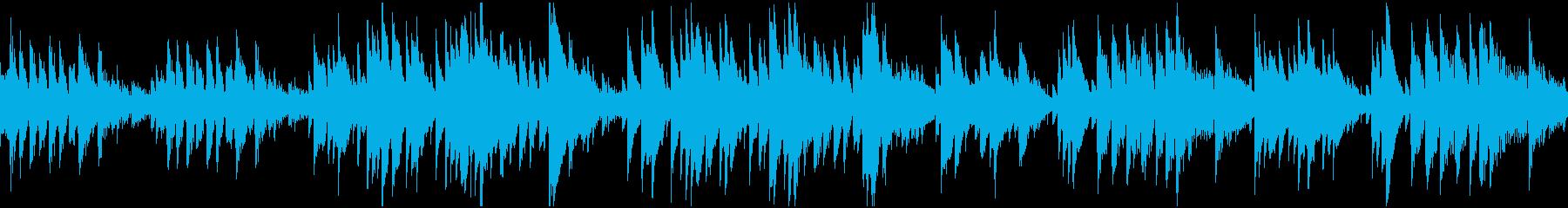 ループ対応耳心地が良い異郷探索風BGMの再生済みの波形