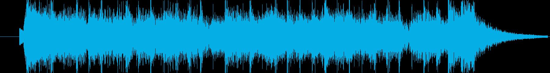 番組のエンディングをイメージして。の再生済みの波形