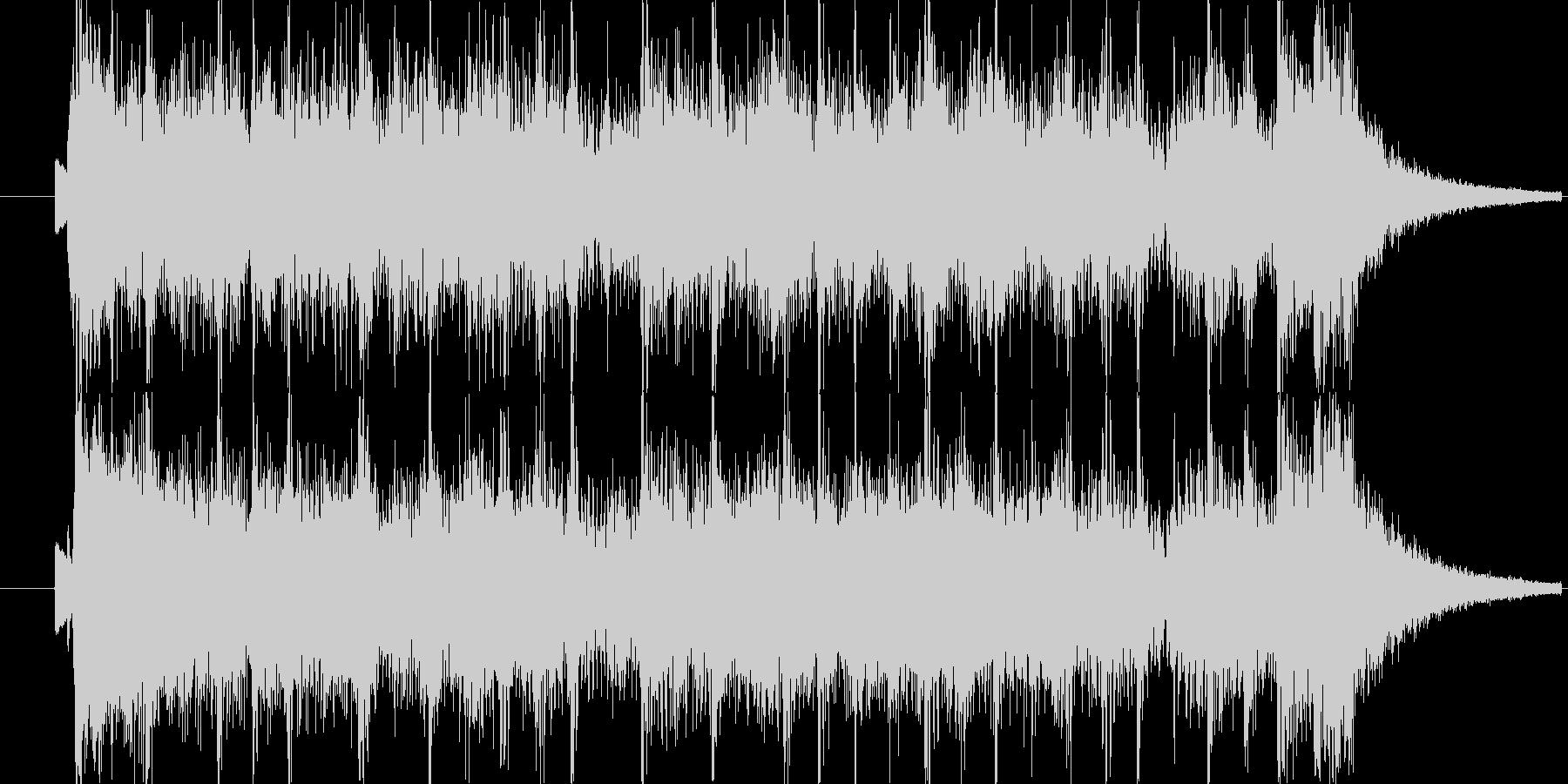 番組のエンディングをイメージして。の未再生の波形