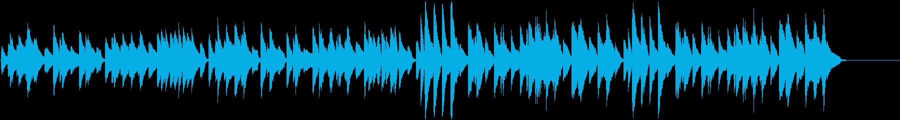 優雅で気品あるヴェートーベン・メヌエットの再生済みの波形