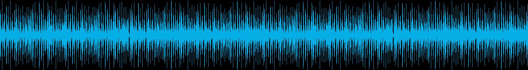 YouTube向け・のほほんポップループの再生済みの波形