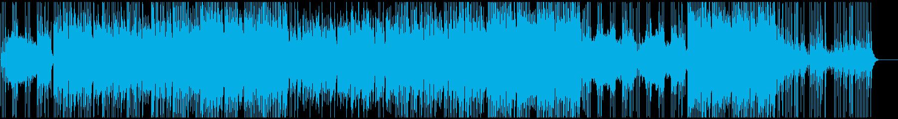 感動的三線ポップバラードの再生済みの波形