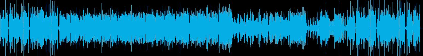 大人な雰囲気のジャズピアノの再生済みの波形