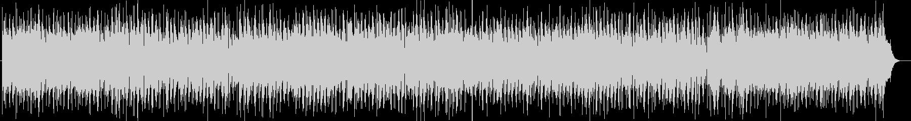 ピアノ音の愛らしく軽快なポップスの未再生の波形