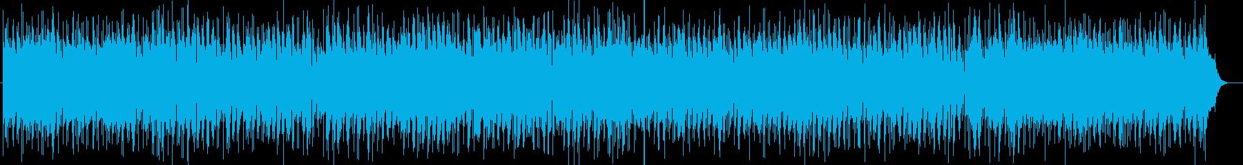 ピアノ音の愛らしく軽快なポップスの再生済みの波形