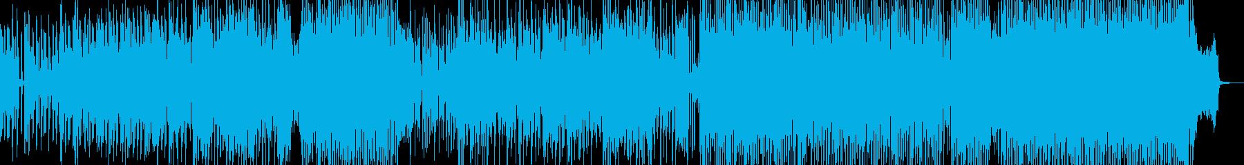 メリハリ・緩急際立つヒップ&ハウス Aの再生済みの波形