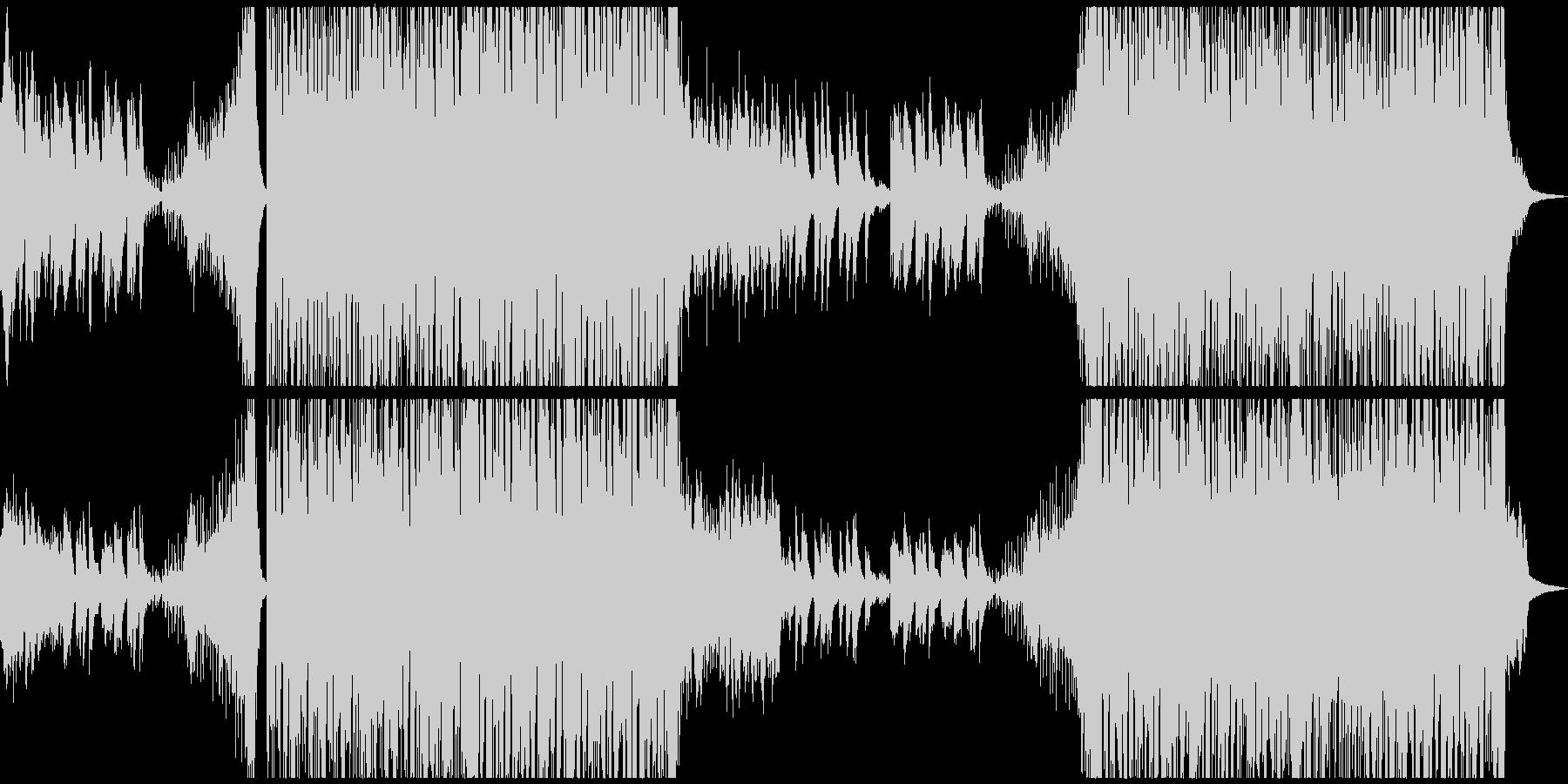 幻想的で力強い曲 電脳/森/ファンタジーの未再生の波形