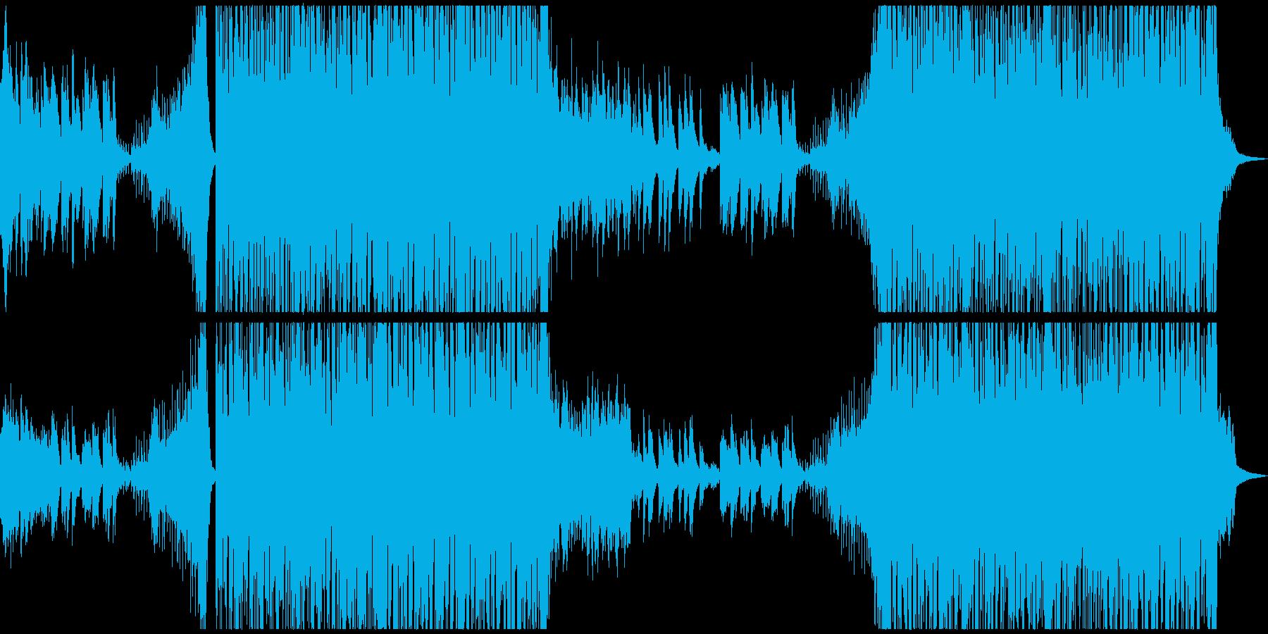 幻想的で力強い曲 電脳/森/ファンタジーの再生済みの波形