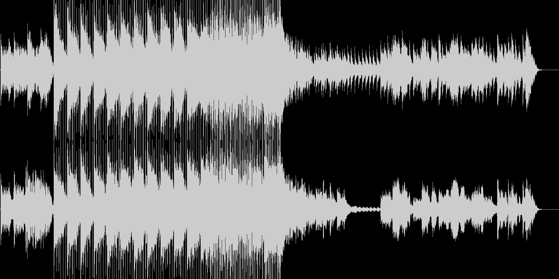 ノスタルジー 青春 オルタナ ロックの未再生の波形