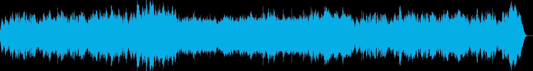 バロックオリジナルでパイプオルガンメインの再生済みの波形