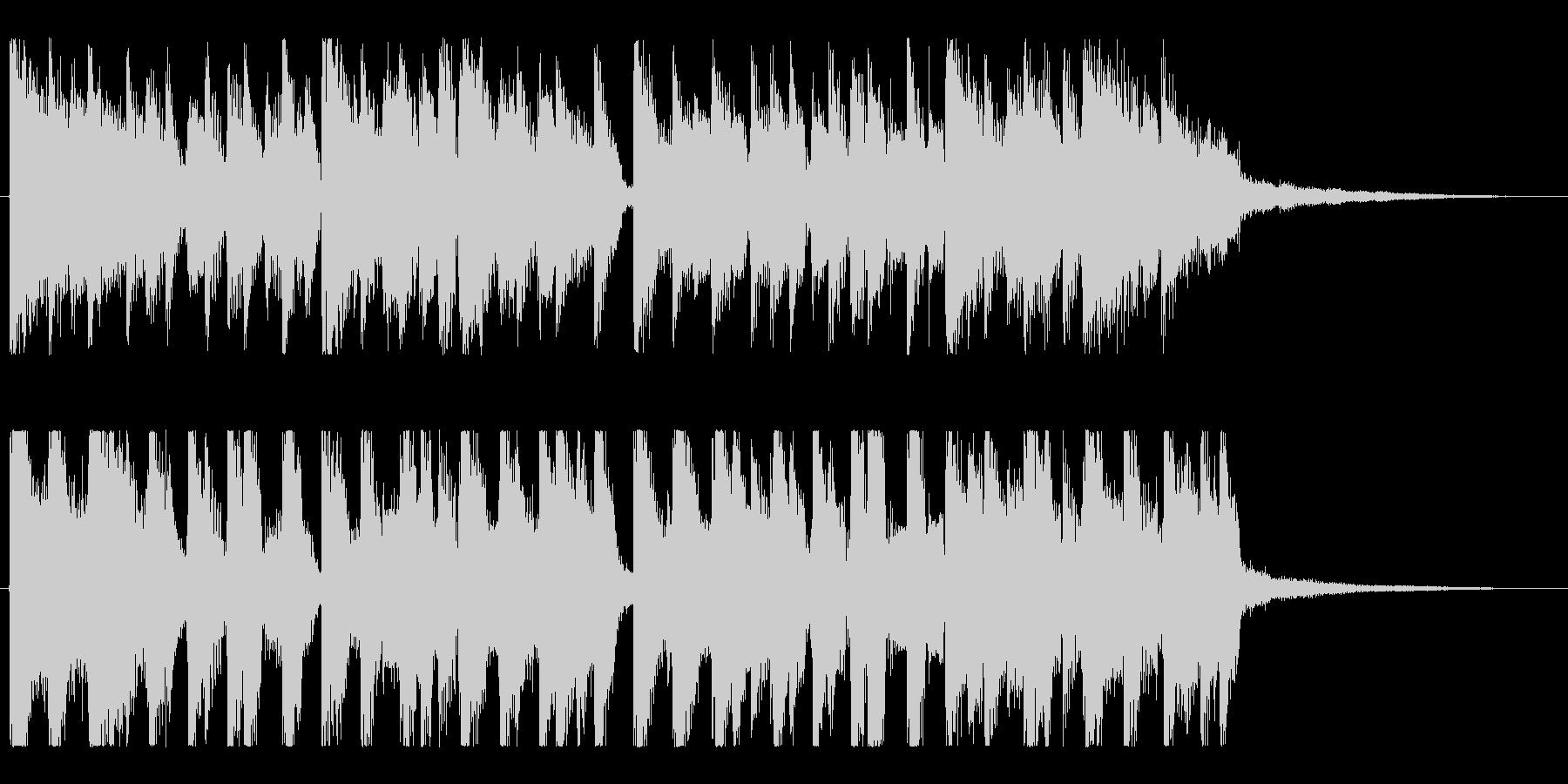 スタイリッシュ、おしゃれグルーヴトラックの未再生の波形