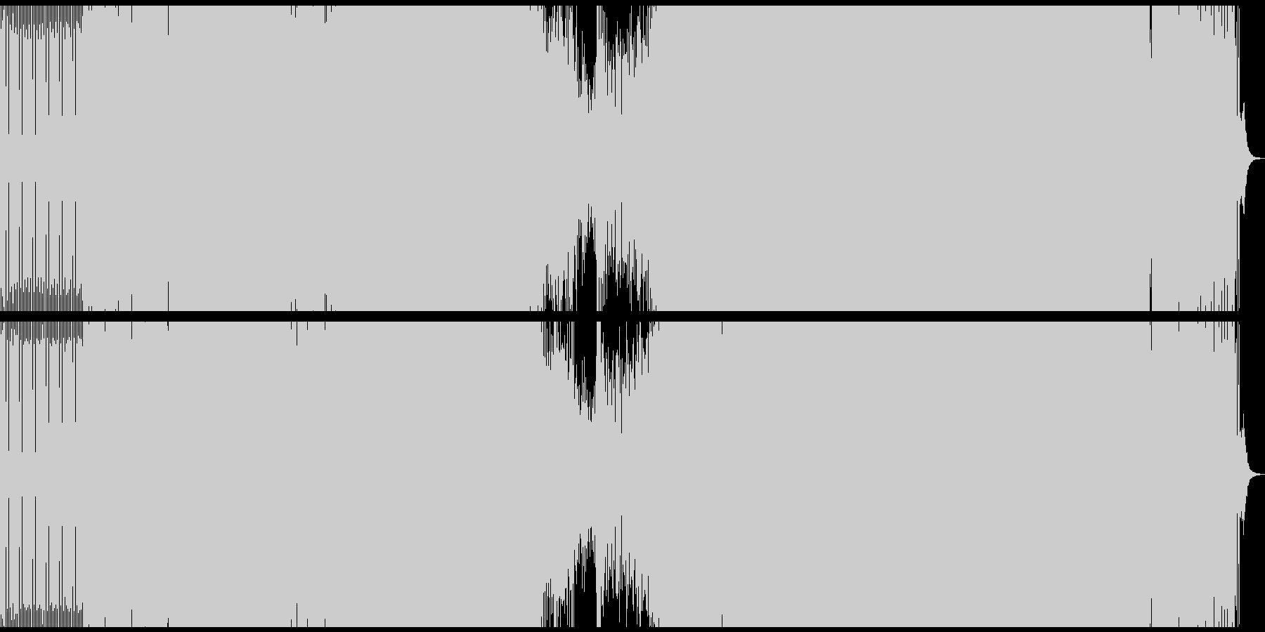 クラブ/EDM/プログレッシブハウスの未再生の波形