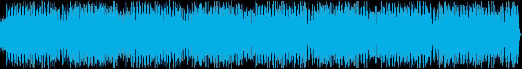 ウクレレ、ポップス、明るいの再生済みの波形