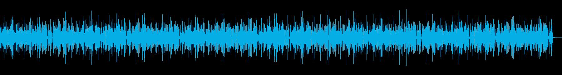 おもちゃのピアノがほのぼのかわいい曲の再生済みの波形
