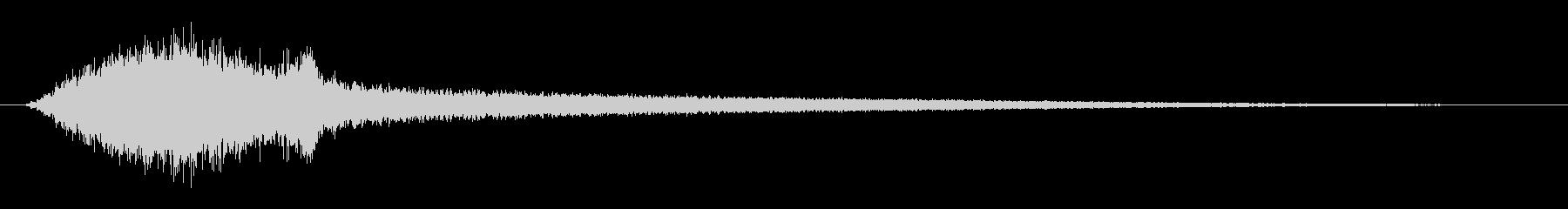 ホラー ピアノボウストリングブロー...の未再生の波形