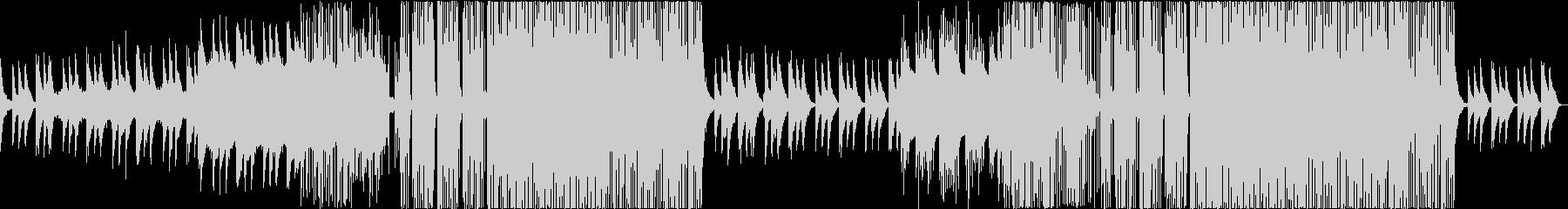チルアウト、夜、ピアノ、エモーショナルの未再生の波形