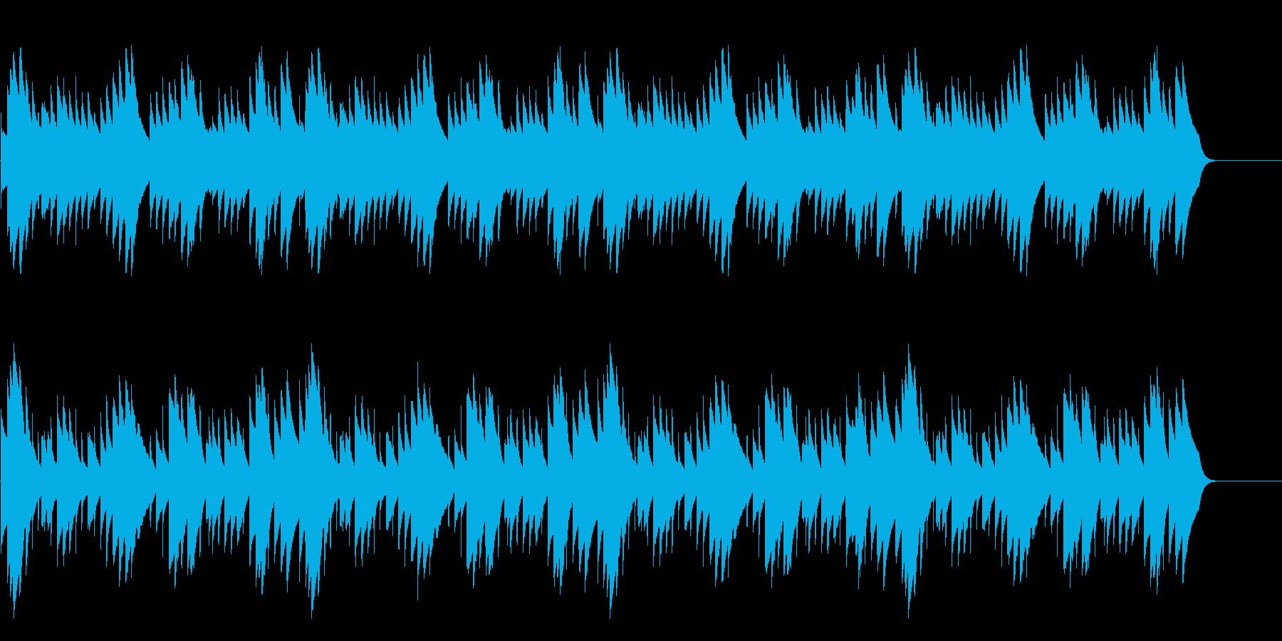 シャボン玉・速い 24bit44kHzの再生済みの波形