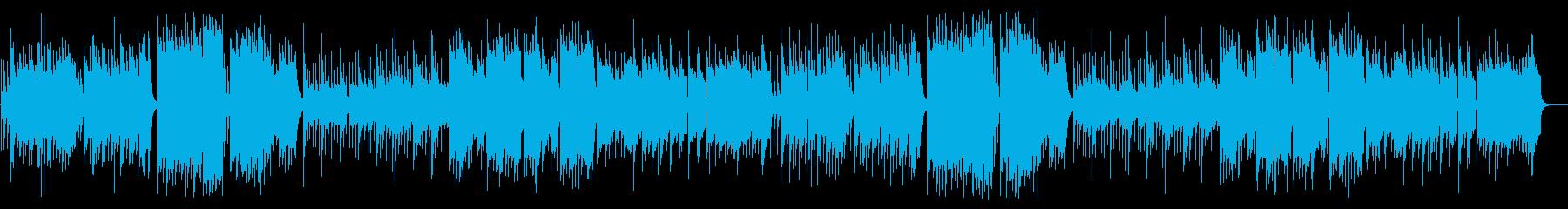 ゆめかわ、可愛いオルゴールとリコーダーの再生済みの波形