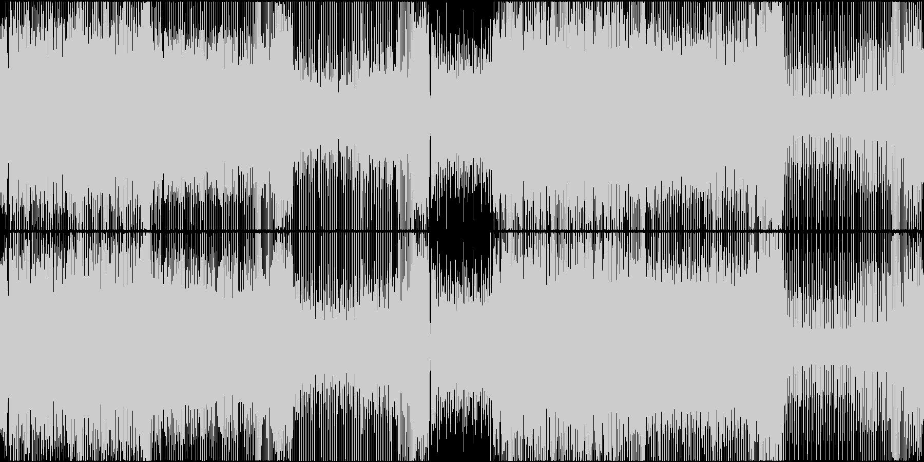 EDM トランス 明るい 楽しい BGMの未再生の波形
