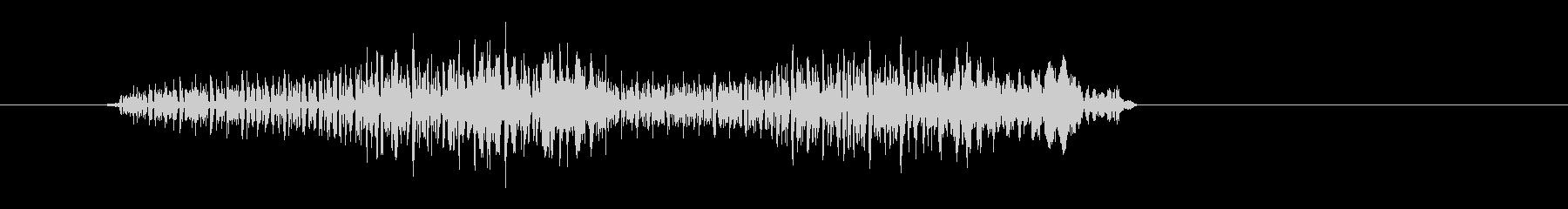 アイテム破壊時などのダイアログ表示の音の未再生の波形