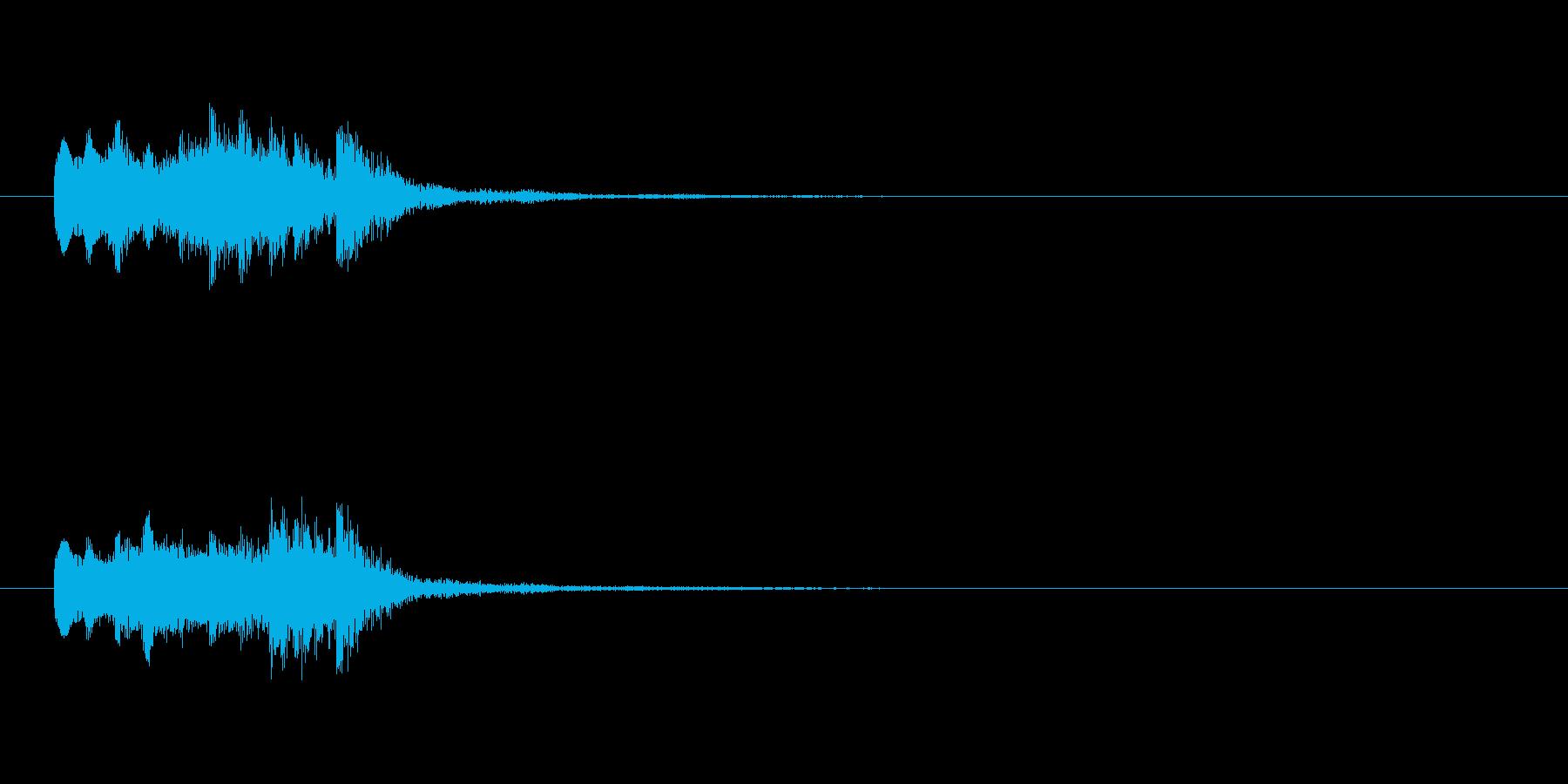 【ショートブリッジ10-2】の再生済みの波形