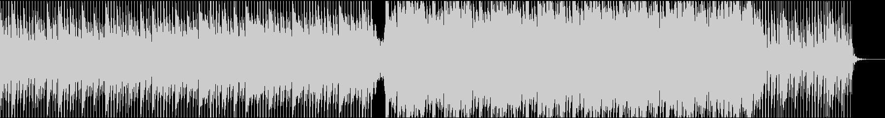 疾走系コーポレートの未再生の波形