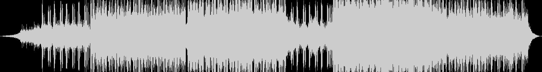 ピアノベースエレクトロヒップホップBGMの未再生の波形