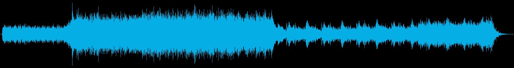 スローテンポのキラキラしたバラードの再生済みの波形