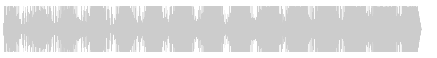 モクモク(コミカル)の未再生の波形