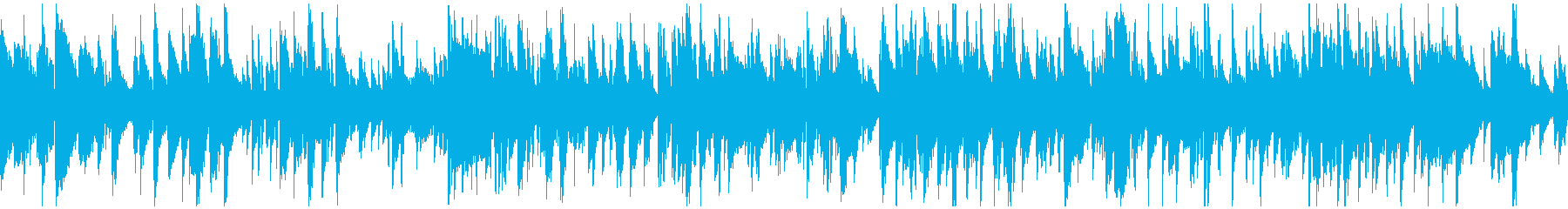 リラックス・ジャズ、ラウンジ ※ループ版の再生済みの波形