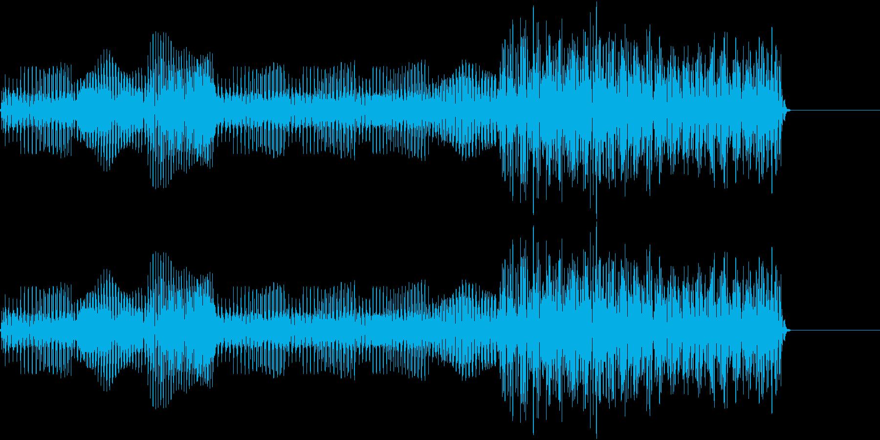 ポップなアイテム入手の再生済みの波形