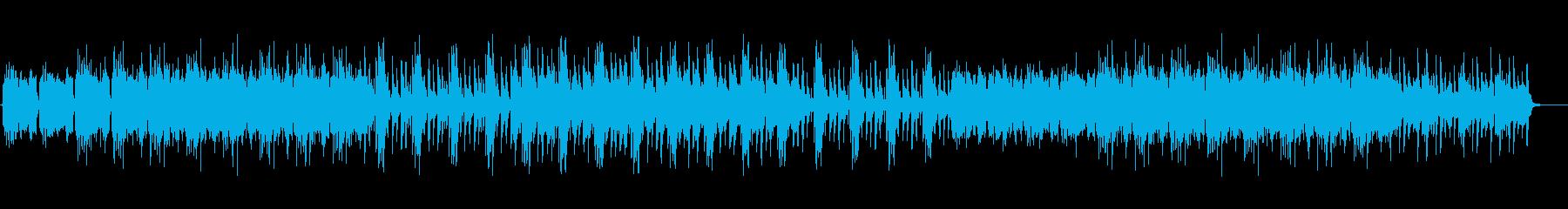 和の楽器を用いた日本テイストのBGM2の再生済みの波形