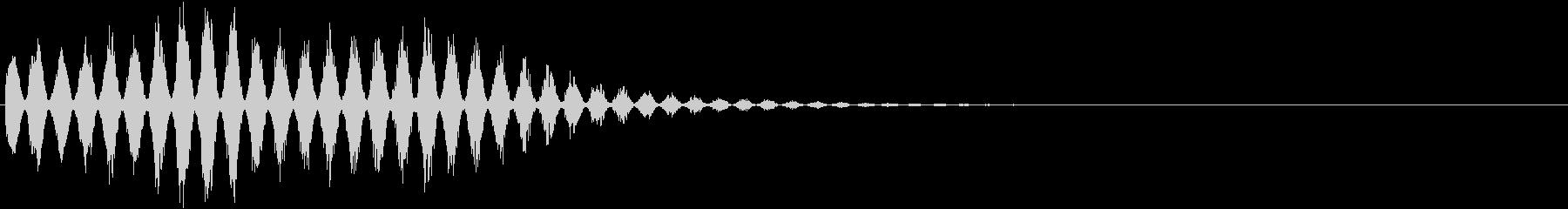 RPGゲーム魔法音11(風系)の未再生の波形