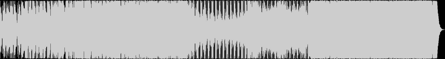 シリアスな和風オーケストラロックの未再生の波形