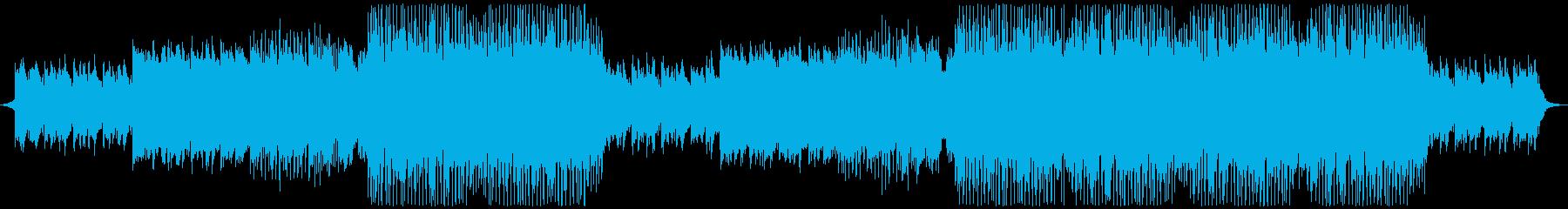 オープニング・スポーツ 洋楽EDMの再生済みの波形