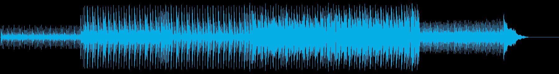 単調でシリアスなちょっと重たいポップの再生済みの波形
