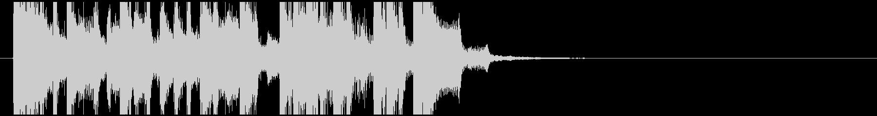 ラジオジングル1の未再生の波形