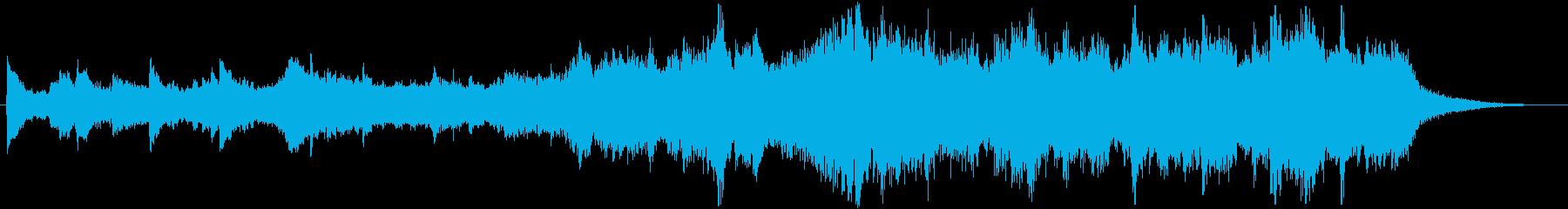 ジングル - シリアス劇伴の再生済みの波形