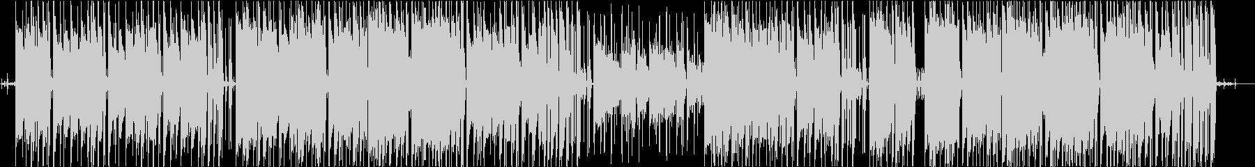 ジャジーなローファイヒップホップの未再生の波形