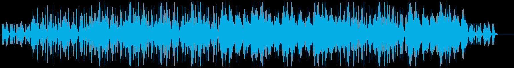 【ミニマル】ピアノ_清潔感の再生済みの波形