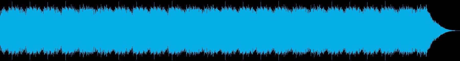 緊張感のある小曲の再生済みの波形