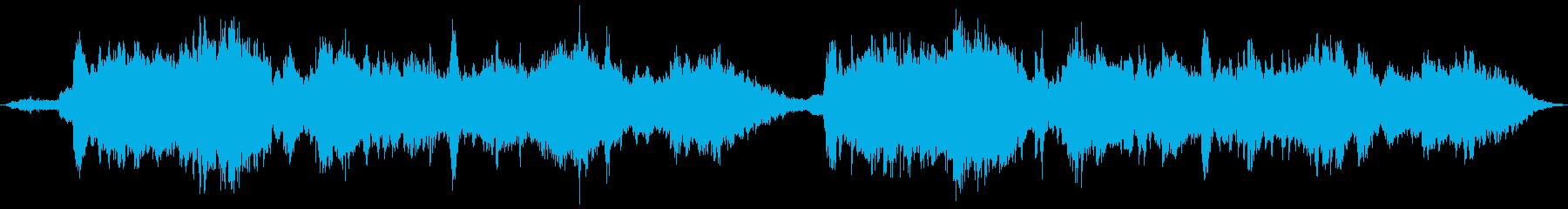 幻想的な即興インスト曲の再生済みの波形