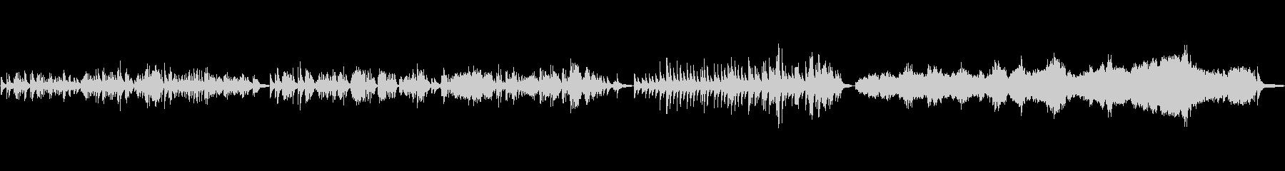 ピアノでバッハ 3種の曲よりの未再生の波形