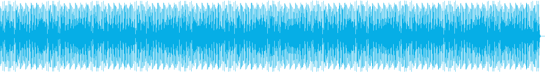 コミカルで間抜けなシーンの劇伴の再生済みの波形