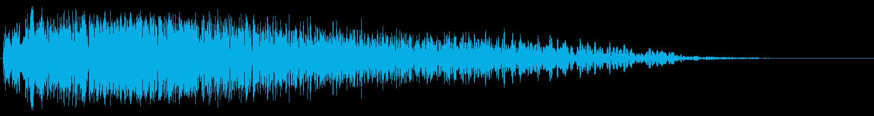 スペースインパルスレーザーガン:シ...の再生済みの波形