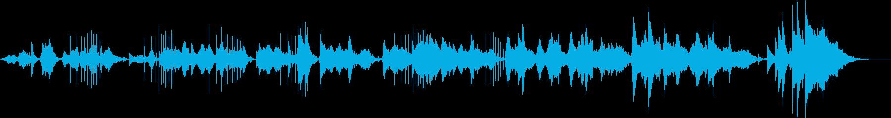 バイオリンによる日本の和の代表曲/越天楽の再生済みの波形