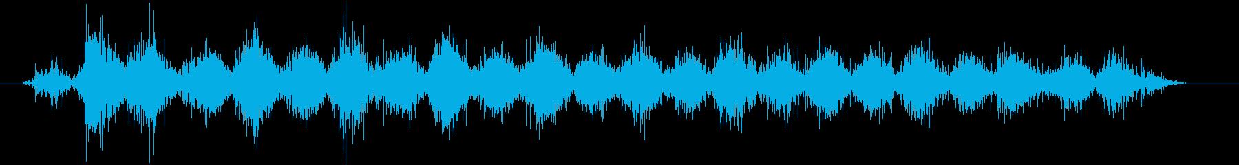 スモールビーズフィルドレインスティ...の再生済みの波形