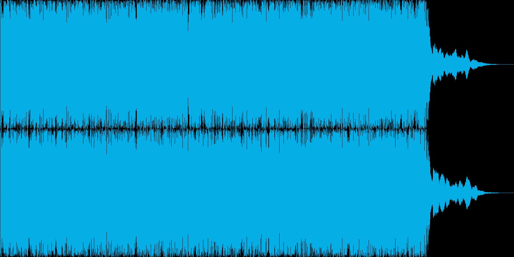 ファンタジーRPGの戦闘をイメージした…の再生済みの波形