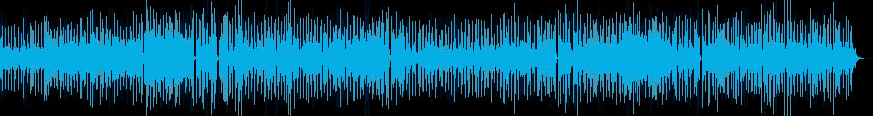 ゆったりとした空間のインストポップスの再生済みの波形